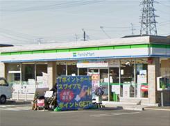ファミリーマート野洲冨波乙店 約620m (徒歩8 分)